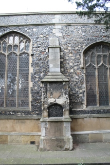 South Wall and a buttress