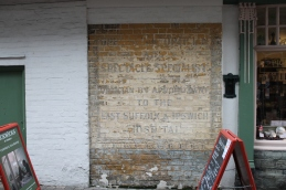Ghostsign on the side of Pickwicks