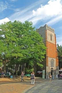 St. Stephen's Church, now the Tourist Information Centre