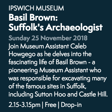 Basil Brown Museum Secrets event