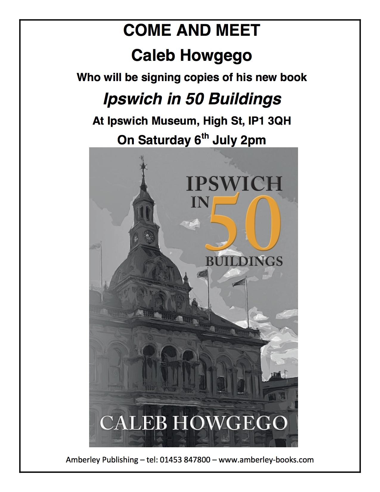 Ipswich in 50 Buildings Poster